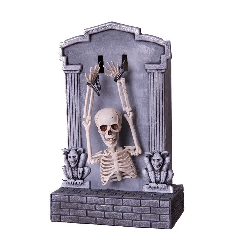 Tumba Esqueleto con Luz,...