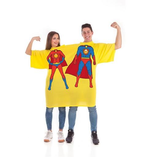 Disfraz de Camiseta Doble...