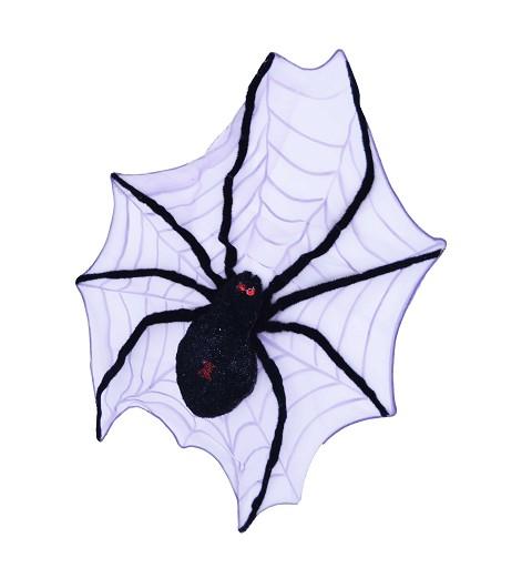Araña con Telaraña 60 cm