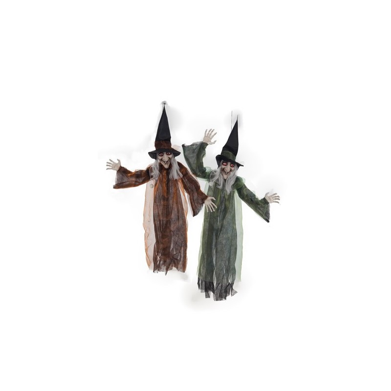 Unisex Gótico Halloween Bruja Araña Negra Colgante y Collar 724