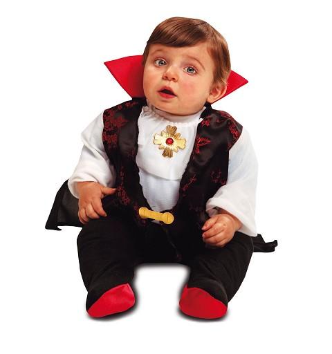 Disfraz Drácula Bebé Con Capa