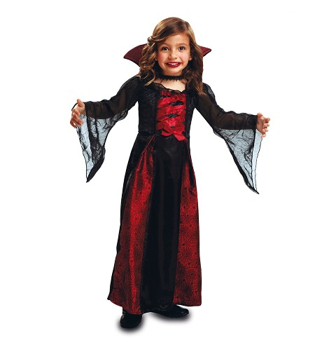 Disfraz Vampiresa Reina Niña