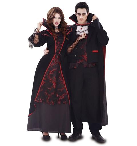 Disfraz Vampiresa Elegante...