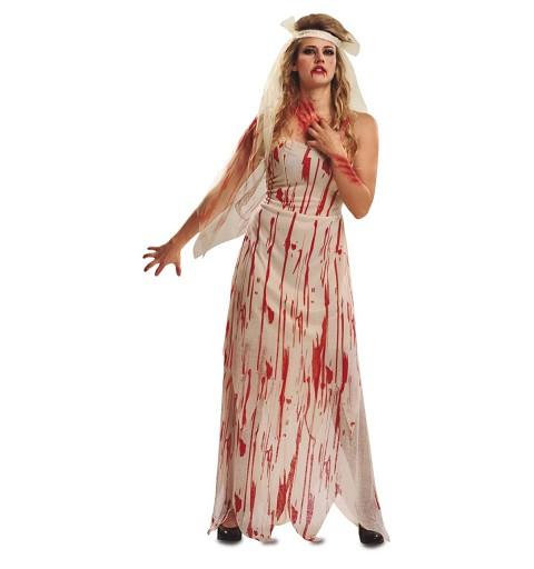 Disfrraz Novia Cadaver Mujer