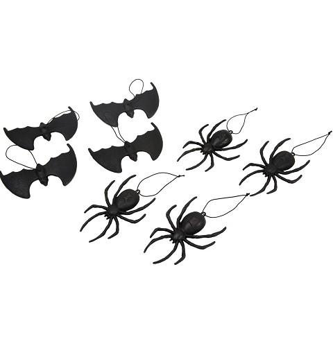 Arañas Y Murciélagos Colgantes