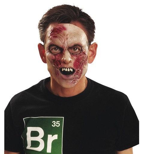 Media Máscara De Zombie...