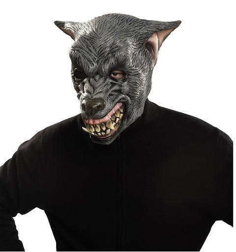 Máscara Hombre Lobo Gris