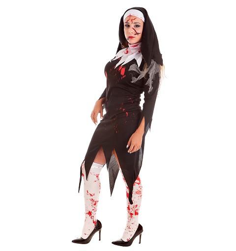 Disfraz Monja Zombie Adulto
