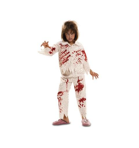 Disfraz Zombie Sonámbula Niña