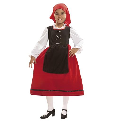 Disfraz de Aldeana para Niña