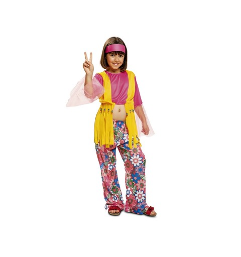 Disfraz de Hippie Flower...