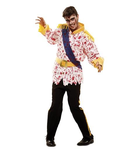 Disfraz Príncipe Zombie Hombre
