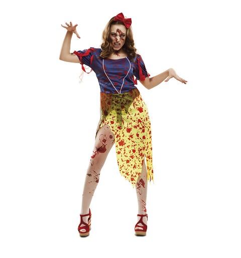 Disfraz Blancanieves Zombie...