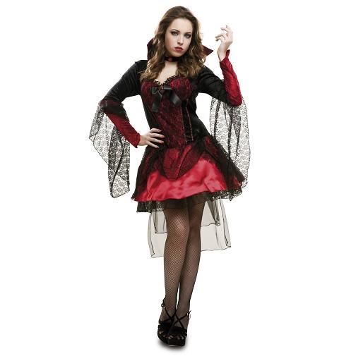 Disfraz Vampiresa Oscura Mujer