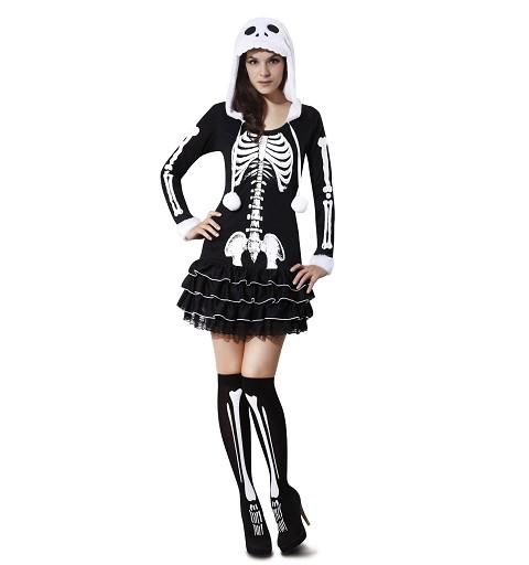 Disfraz Esqueleto Descarada...