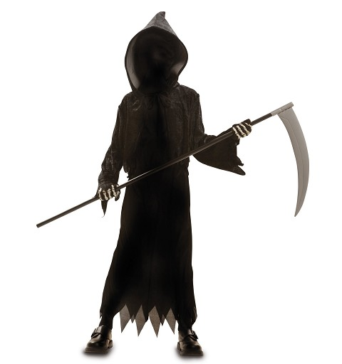 Disfraz Muerte Oscura Niño