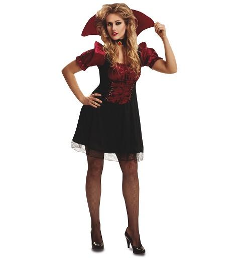 Disfraz Vampiresa Chic Mujer