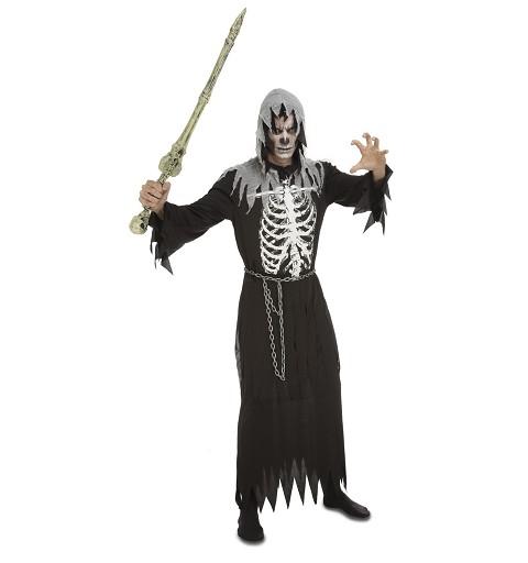 Disfraz Ejecutor Esqueleto...