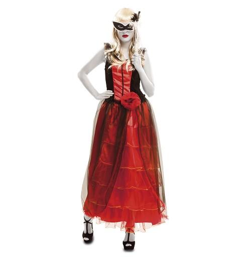 Disfraz Vampira Barroca Mujer