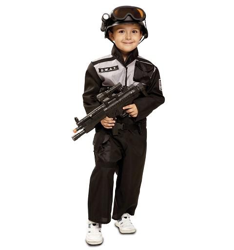 Disfraz  de Swat Niño