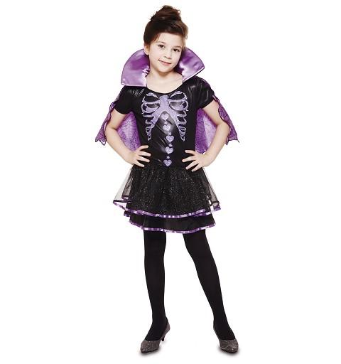 Disfraz Vampiresa Esqueleto...