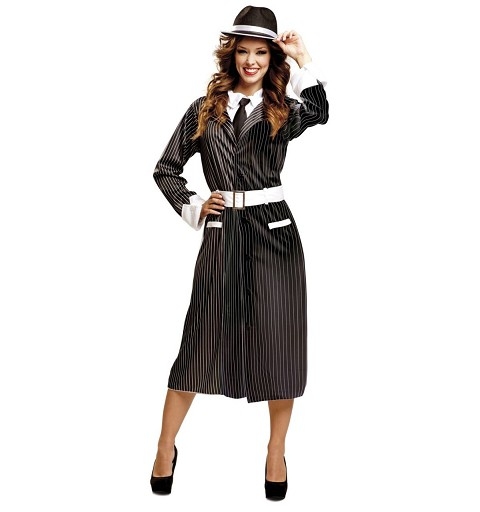 Disfraz Gangster Lady Mujer