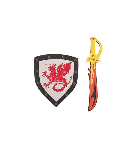 Escudo y Espada Dragón...