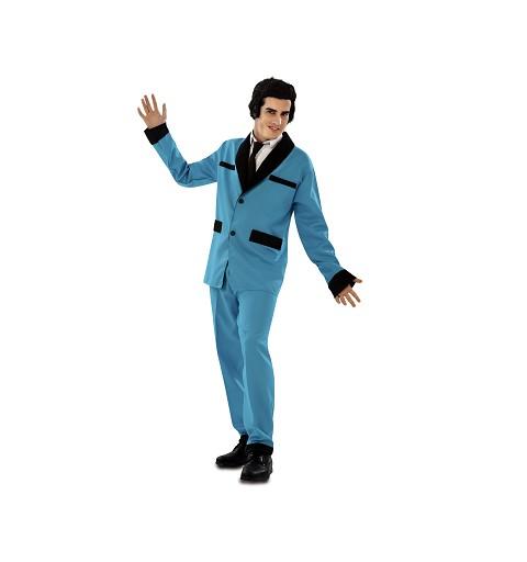 Disfraz de Rockabilly Azul...
