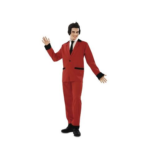 Disfraz de Rockabilly Rojo...