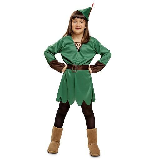Disfraz Lady Robin Hood Niña