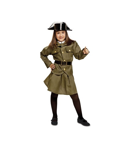 Disfraz Guardia Civil  Niña