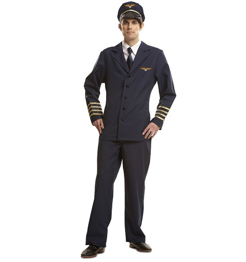 Disfraz Piloto Hombre