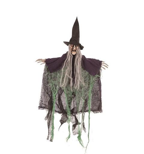 Colgante Bruja Hilos Verde...