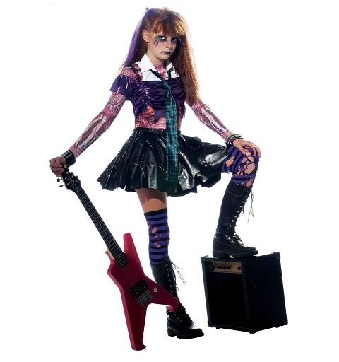 Disfraz Rockera Zombie....