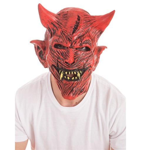 Máscara Demonio Rojo