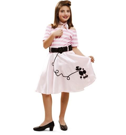 Disfraz Pink Lady Doggie Niña