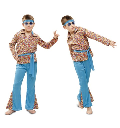Disfraz Hippie Psicodélico...