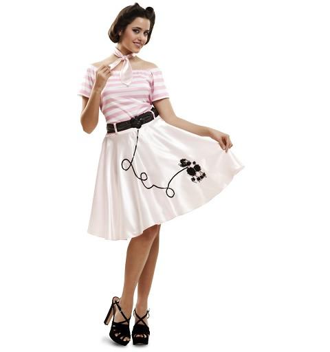Disfraz Pink Lady Doggie Mujer