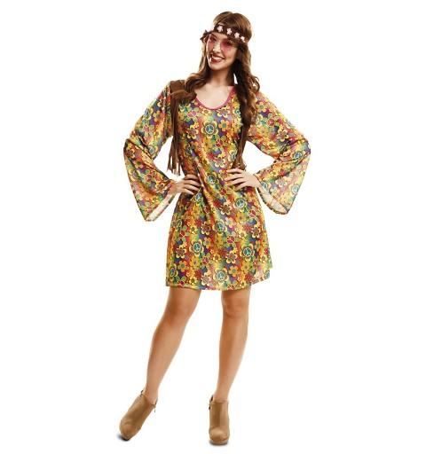 Disfraz Happy Hippie Chica