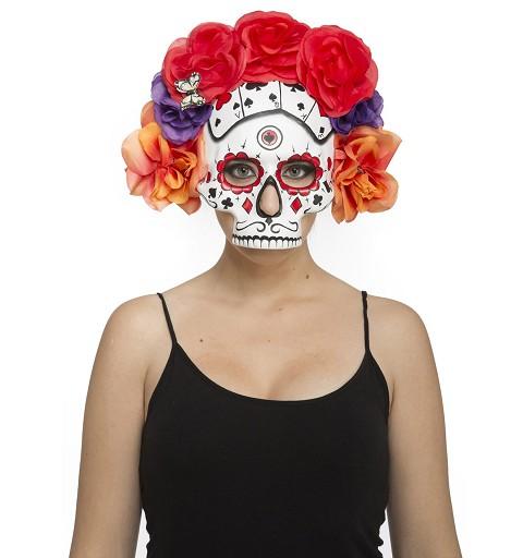 Media Mascara Día De Los...