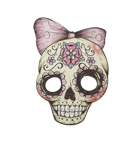 Media Mascara de Cráneo...