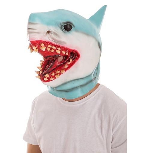 Máscara Tiburón Azul