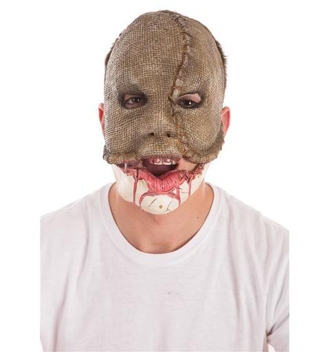 Máscara Saco Yute