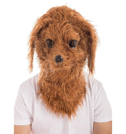 Máscara Perro Lanas Movimiento