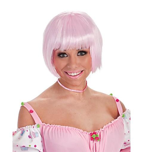 Peluca Cabaret Rosa