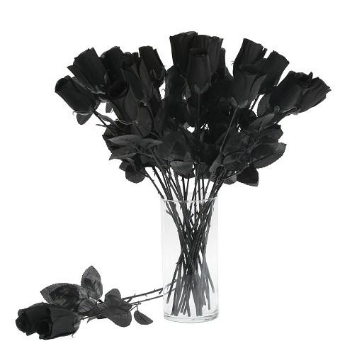 Rosa Negra 44 Cm.