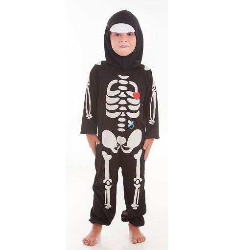Disfraz Skelet Boy Corazón