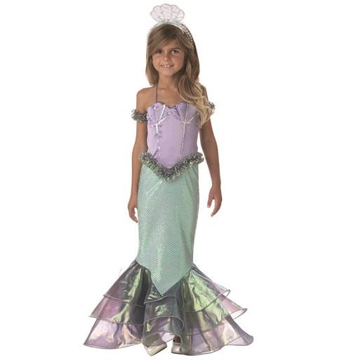 Disfraz Sirena Coral Lux...