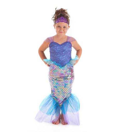 Disfraz Sirena Lila Lux...