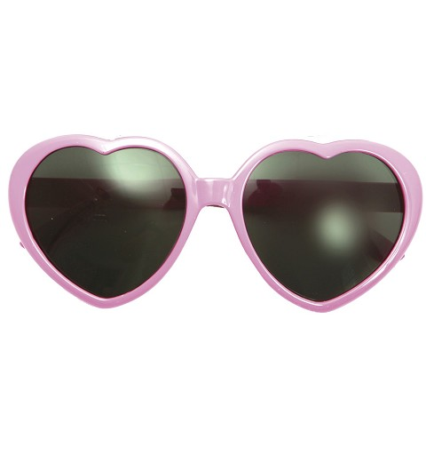 Gafas Forma De Corazón Rosas